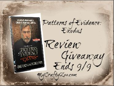 Patterns of Evidence Exodus Giveaway Ends 9/9