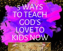 5 Ways to Share God's Love with Little Ones