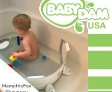 BabyDam Bathtub Divider #Giveaway with @MamaTheFox