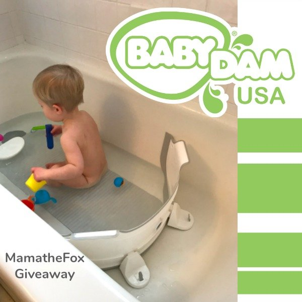 BabyDam Bathtub Divider #Giveaway with @MamaTheFox