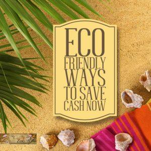 Eco Friendly Ways to Save Cash Now