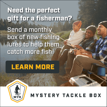 Perfect gift for a fisherman my crafty zoo for Fishing mystery box