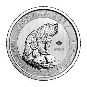 2017 Grizzly Bear Silver Coin: No Risk, Tax Free Investments