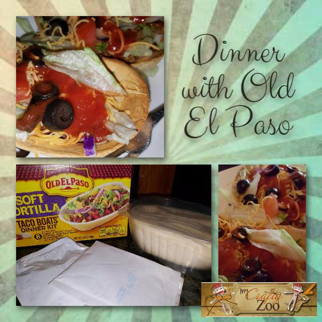 Dinner with Old El Paso