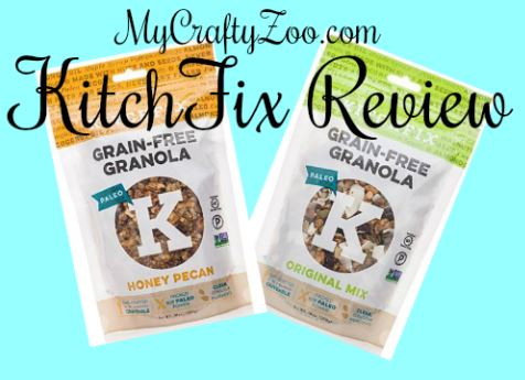 KitchFix Review Yummy Healthy Paleo Snack!