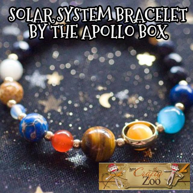 Solar System Bracelet By The Apollo Box