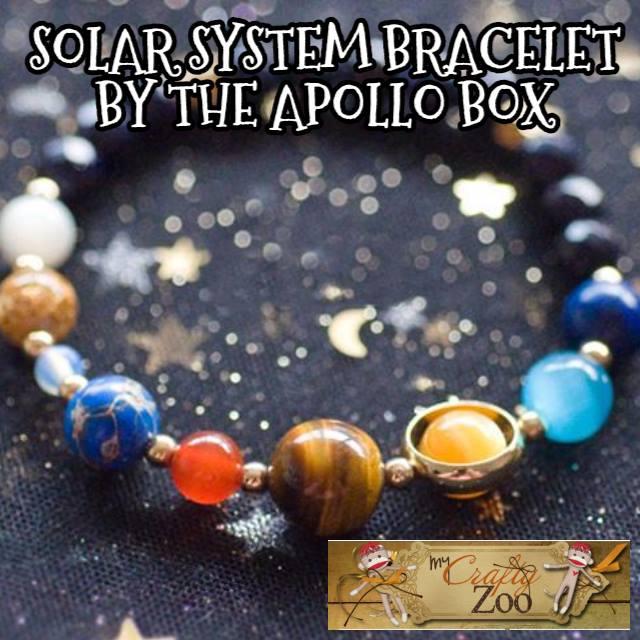 Solar System Bracelet: 2017 Glimmering Gift Guide