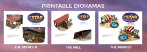 The Star Printable Dioramas