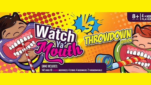Watch Ya' Mouth Throwdown Edition Card Game