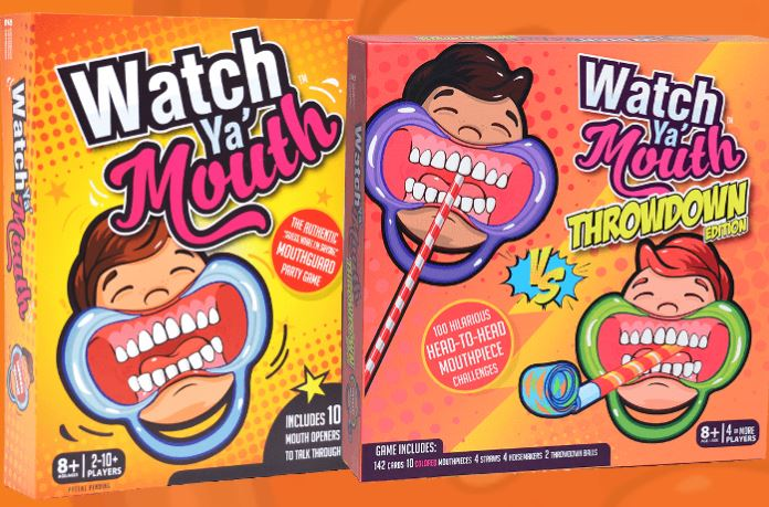 Watch Ya' Mouth: Throwdown + 15% Coupon Code