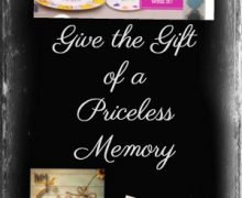 Family Honor Plate: Give the Gift of a Priceless Memory