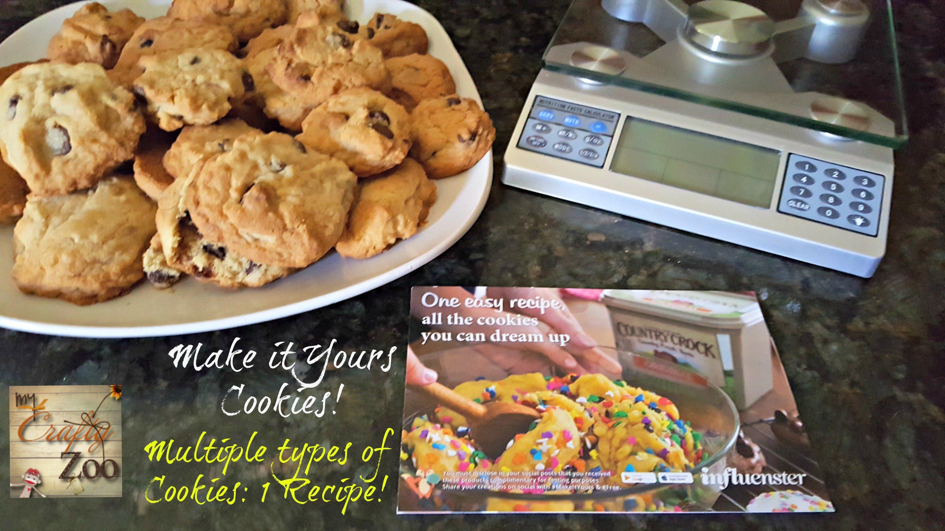 7+ Cookies: 1 Mix! #MakeItYours #EatSmart