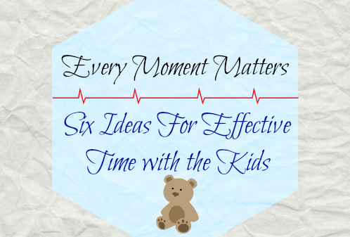 Six Ideas for Effective Time with Kids: A Guest Post