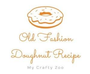 Old Fashion Doughnut Recipe