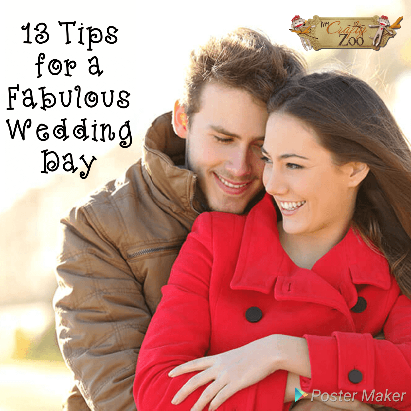 13 Tips for a Fabulous Wedding Day