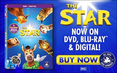 The Star DVD #TheStarMovie #flyby