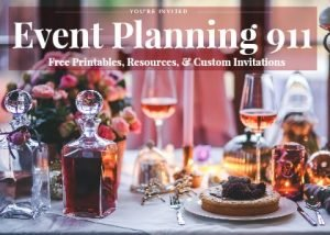 Event Planning 911: Free Resources for weddings, graduations, announcements & more