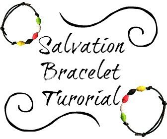 Salvation Bracelet Tutorial
