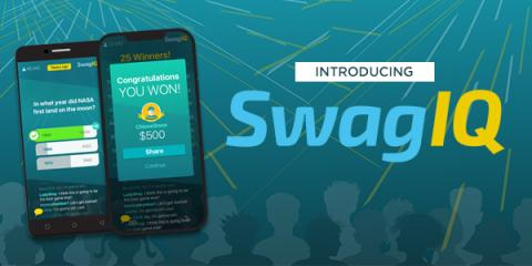 SwagIQ Win $10,000 on Monday playing Swag IQ! (US & Canada Only)