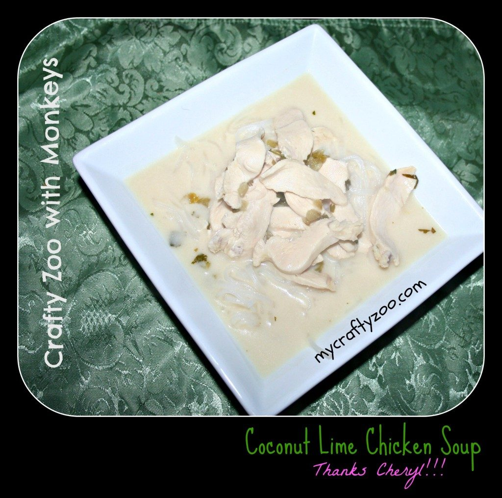 Coconut Lime Chicken Soup Recipe