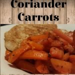 Sweet & Healthy Coriander Carrots
