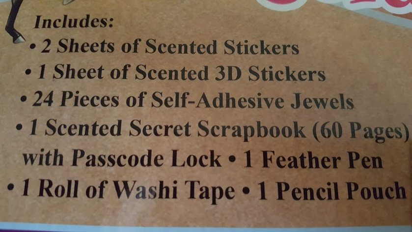 Scented Secret Scrapbook and 20% off Discount!