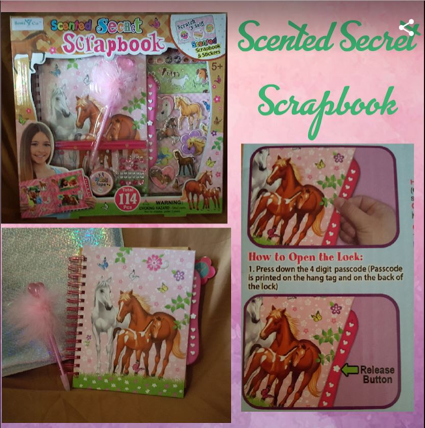 Scented Sweet Scrapbook