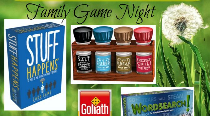 Family Game Night with Goliath Games