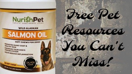 NurishPet & Free Pet Resources You'll  Use for Years to Come!