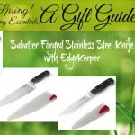 These knives are self sharpening! They make a perfect gift for new homeowners and newlyweds! Check them out!