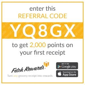 Fetch Rewards:: Free Money for Groceries You Already Buy!