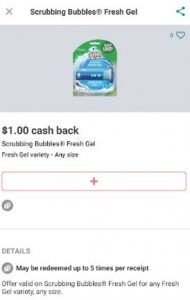 Scrubbing Bubbles for only 64 Cents!!!