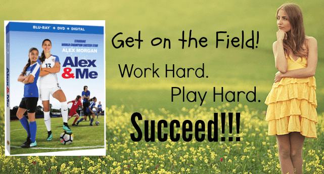 Alex and Me Blu Ray! Work hard, play hard, succeed!