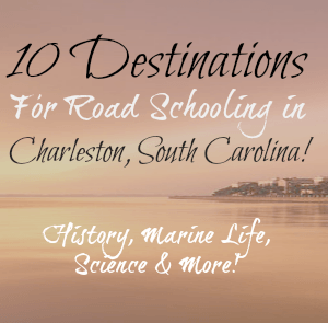 RoadSchooling in Charleston: Home-School Destinations for all ages!