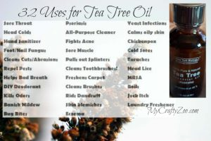 32 Awesome Uses for Tea Tree Oil