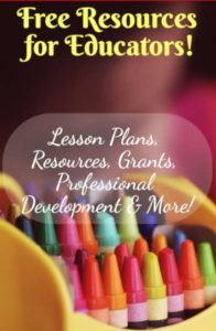 Free Resources for Teachers! Thanks to Crayola!