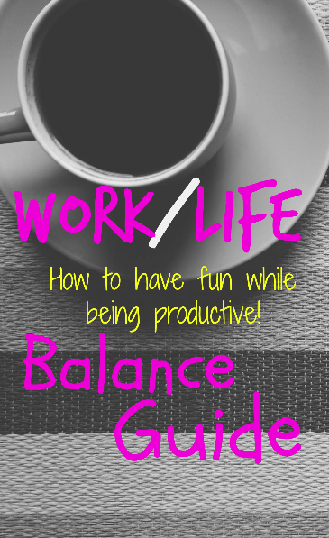 How to have fun while being Productive!