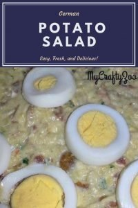 Super Easy German Potato Salad