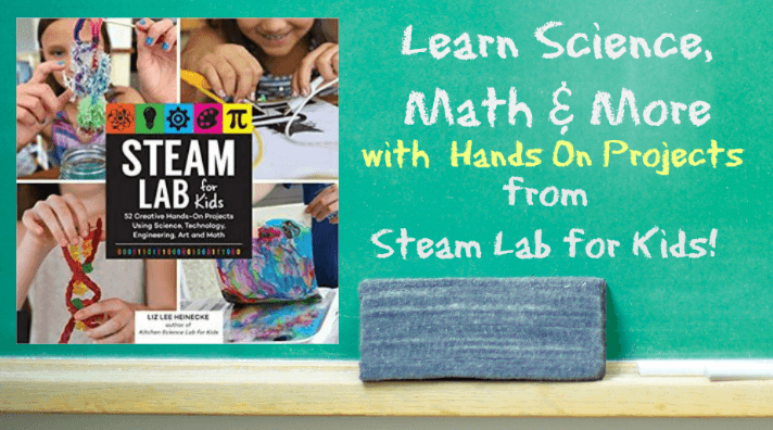 Hand's On Learning with Steam Lab for Kids!