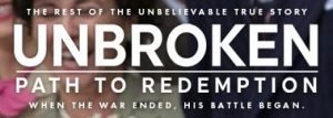 Unbroken Path to Redemption Giveaway Ends 9/15 #unbrokenmovie #flyby