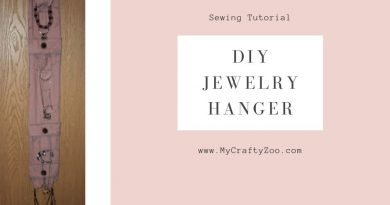 Jewelry Hanger DIY Upcycled & Fabulous!