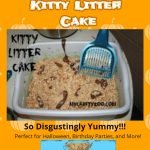 Kitty Litter Halloween Cake: Disgustingly Yummy!