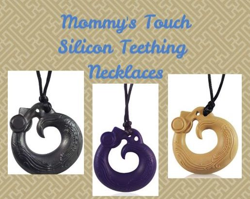 Mommy's Touch Silicone Teething Necklace! You Can't Miss This! @MommysTouchUSA