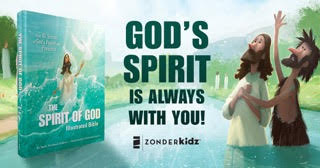 Spirit of God Illustrated Bible - God is always with you! #SpiritofGodBible #FlyBy