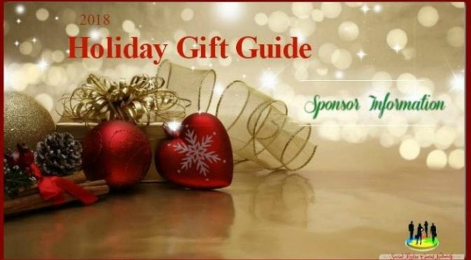 2018 Holiday Gift Guide Sponsor Information