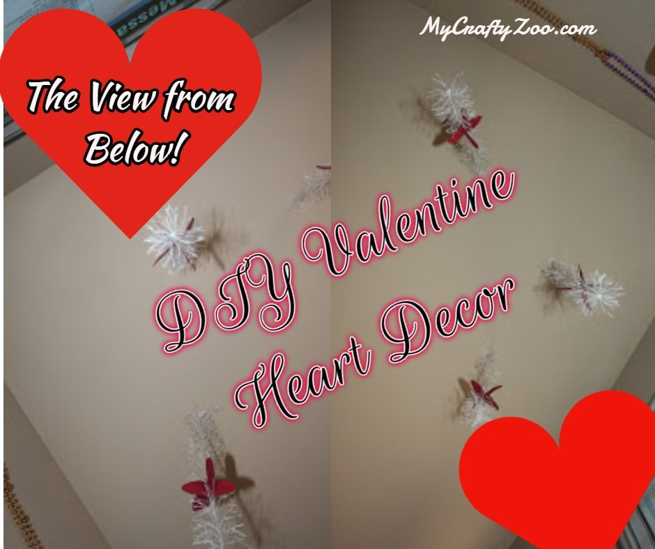 DIY Valentine Heart Decor