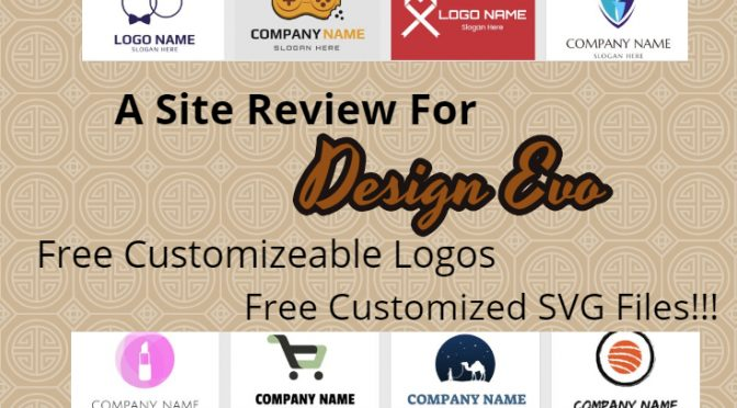 Design Evo: Free Customizable Logos & SVG Files