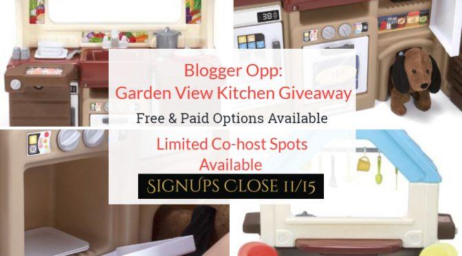 Garden View Blogger Opp