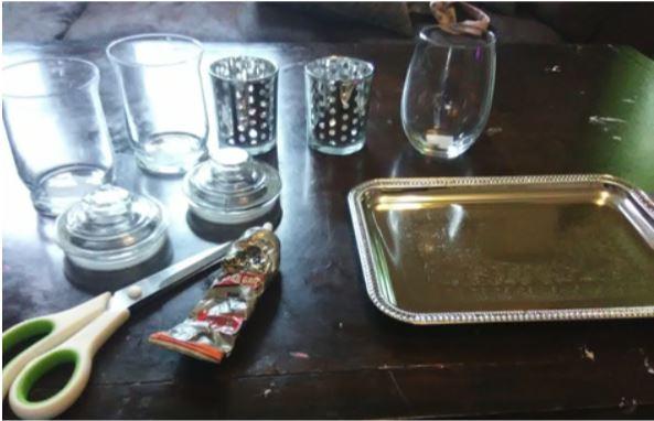 DIY Apothecary Jar Supplies