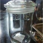 DIY Bathroom Decor Apothecary Jars